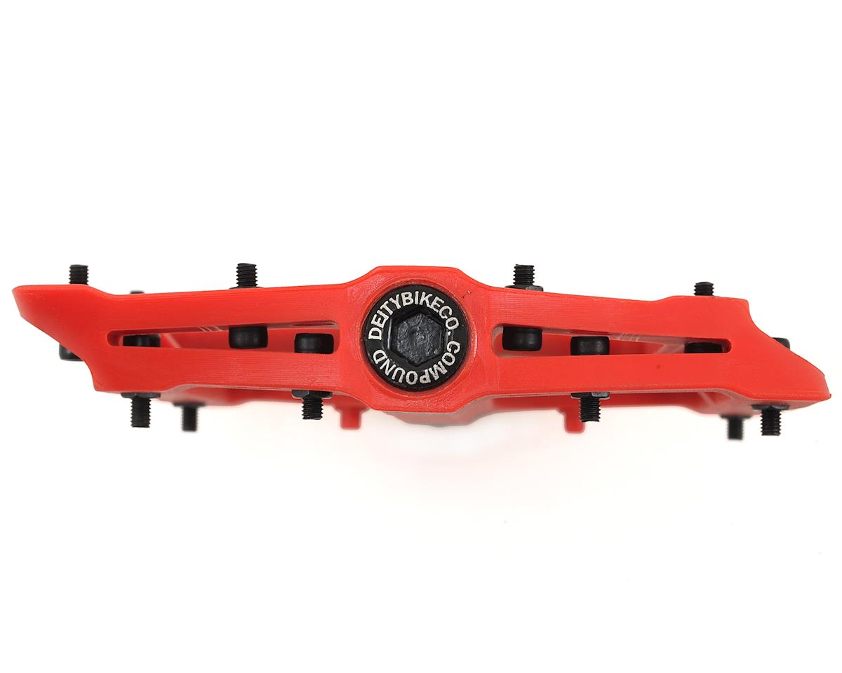 Deity Compound Pedals (Red)