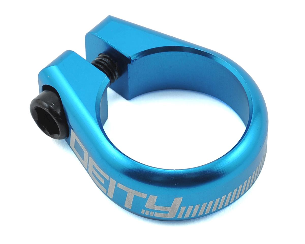 Deity Circuit Seatpost Clamp (29.8mm) (Blue)