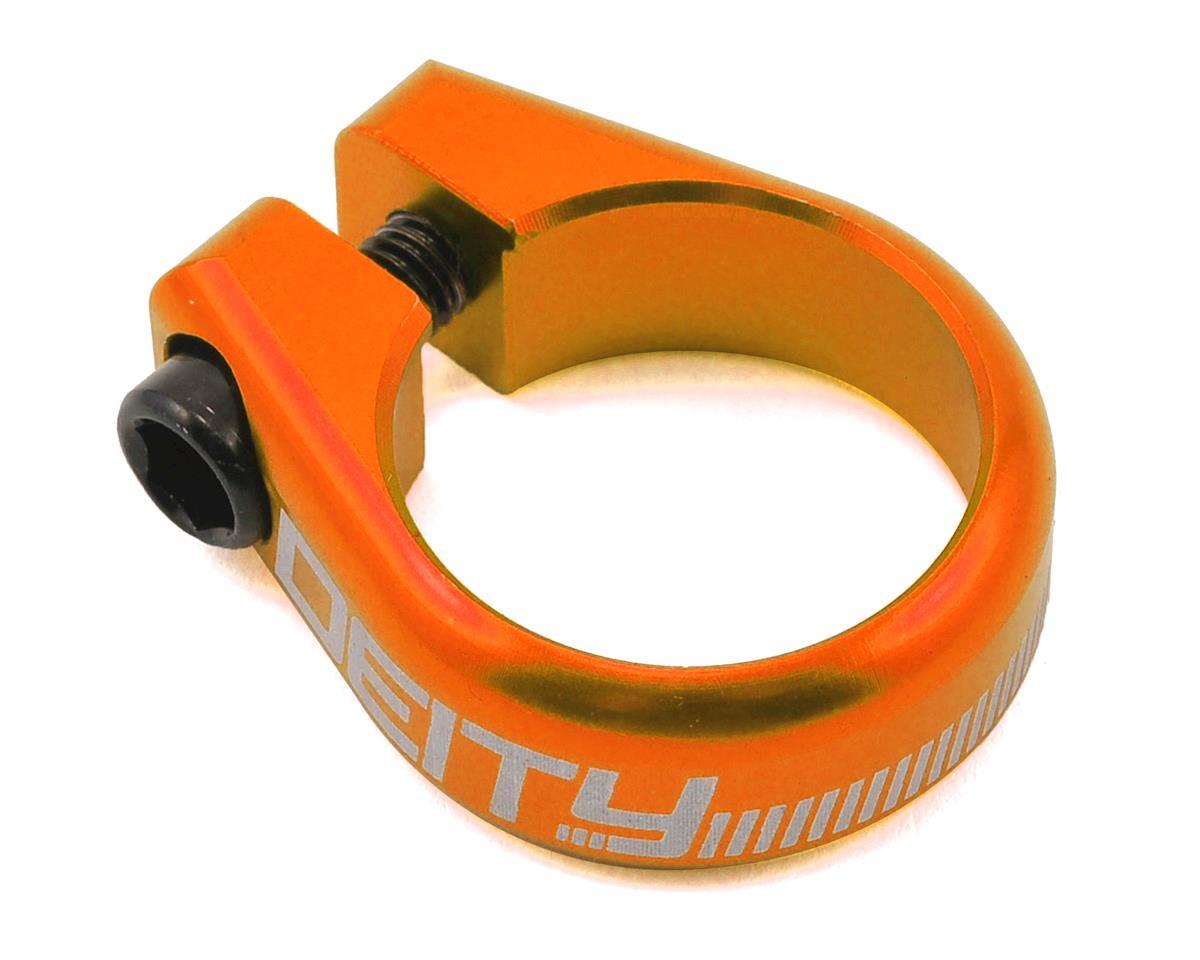 Circuit Seatpost Clamp (29.8mm) (Orange)