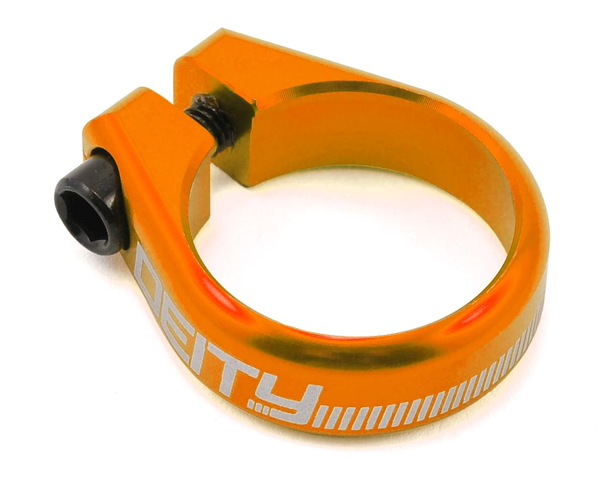 Deity Circuit Seatpost Clamp (34.9mm) (Orange)