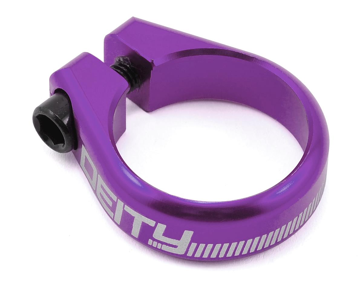 Deity Circuit Seatpost Clamp (34.9mm) (Purple)