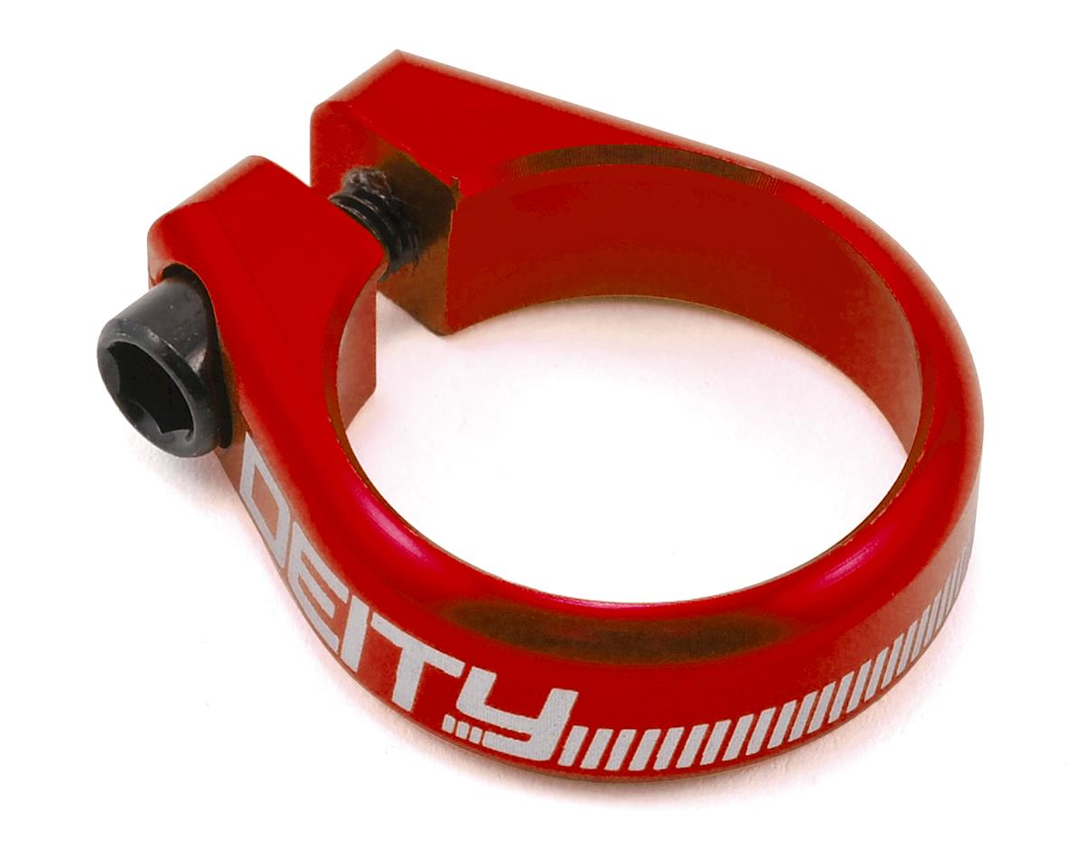 Deity Circuit Seatpost Clamp (34.9mm) (Red)