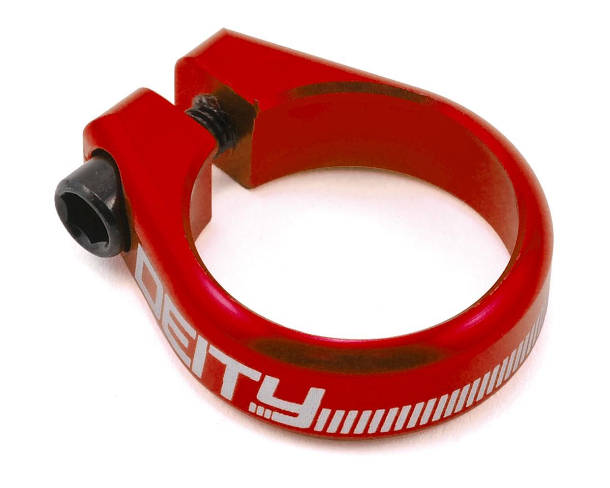 Deity Circuit Seatpost Clamp (34.9mm) (Red)