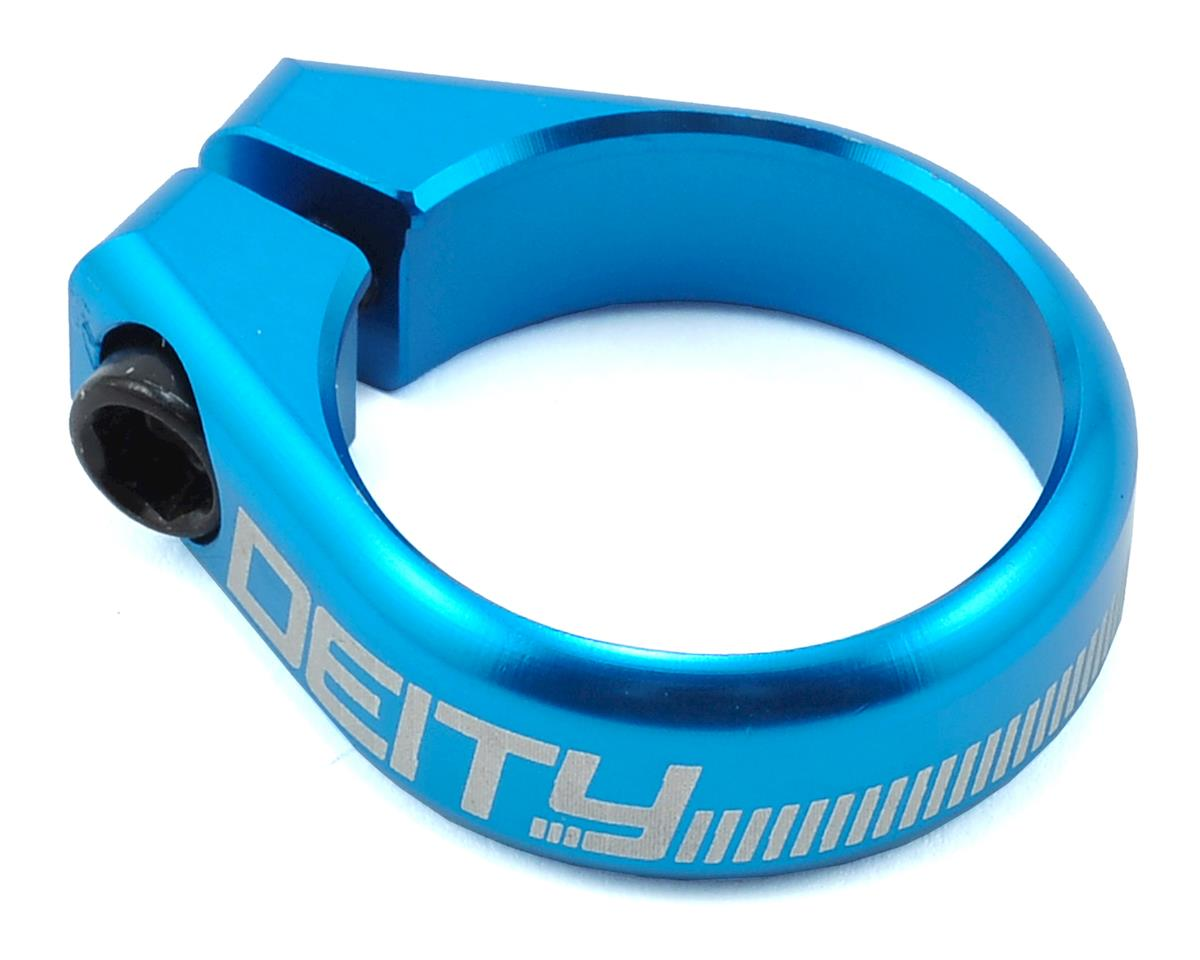Deity Circuit Seatpost Clamp (36.4mm) (Blue)