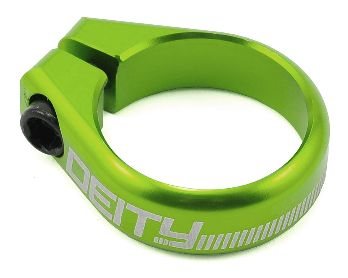 Deity Circuit Seatpost Clamp (36.4mm) (Green)