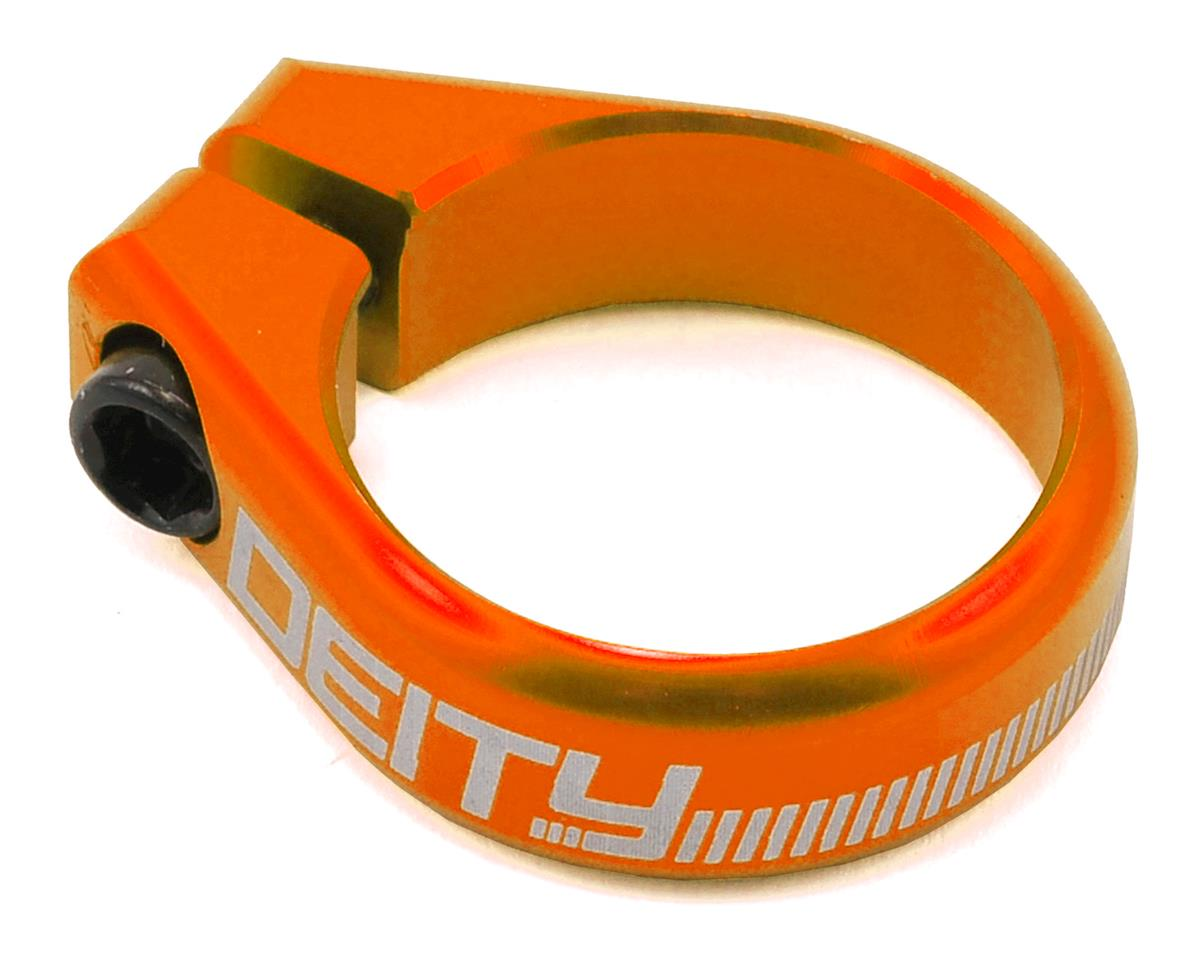 Deity Circuit Seatpost Clamp (36.4mm) (Orange)