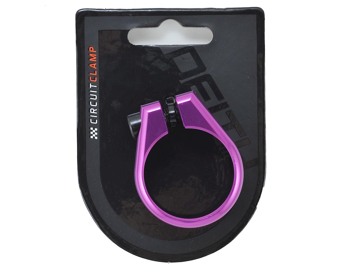 Deity Circuit Seatpost Clamp (36.4mm) (Purple)