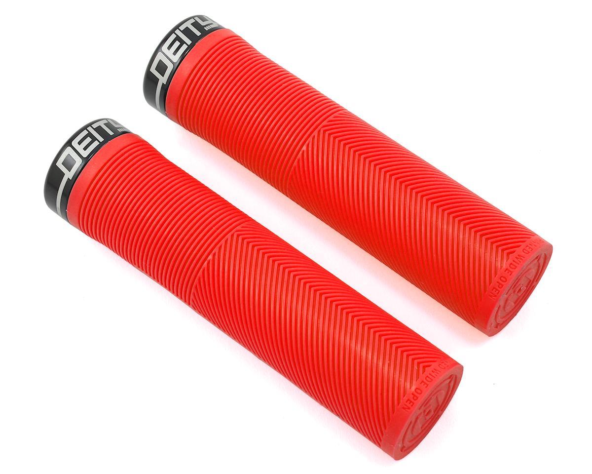 Deity Knuckleduster Locking Grips (132mm) (Red)