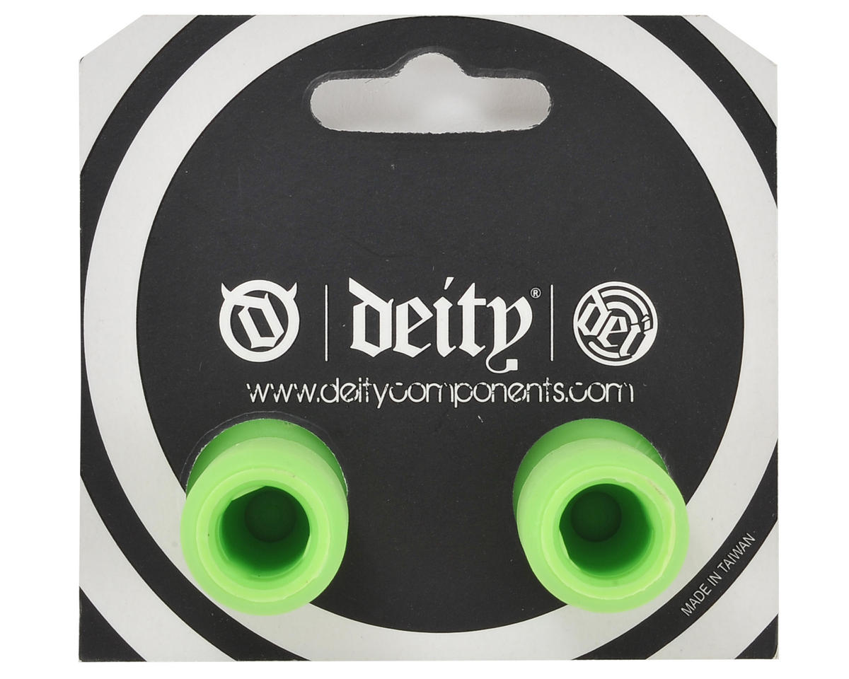 Deity Plunger Nylon End Plugs (Green)