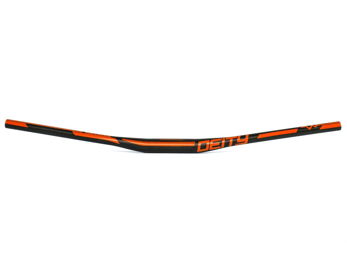 Deity Ridgeline 35mm Mountain Bike Handle Bar w/15mm Rise (800mm) (Orange)