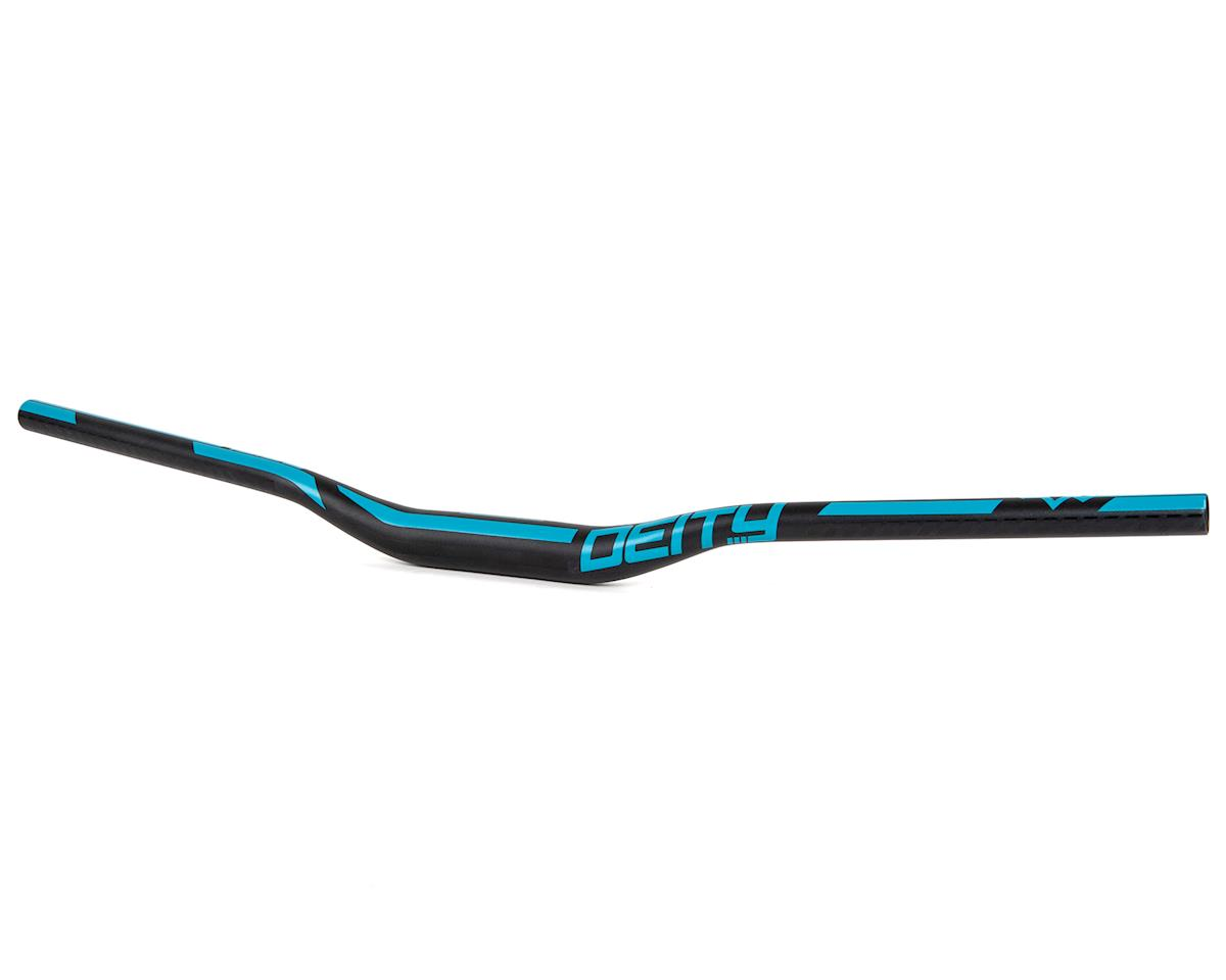 Deity Ridgeline 35mm Mountain Bike Handle Bar w/25mm Rise (800mm) (Turquoise)