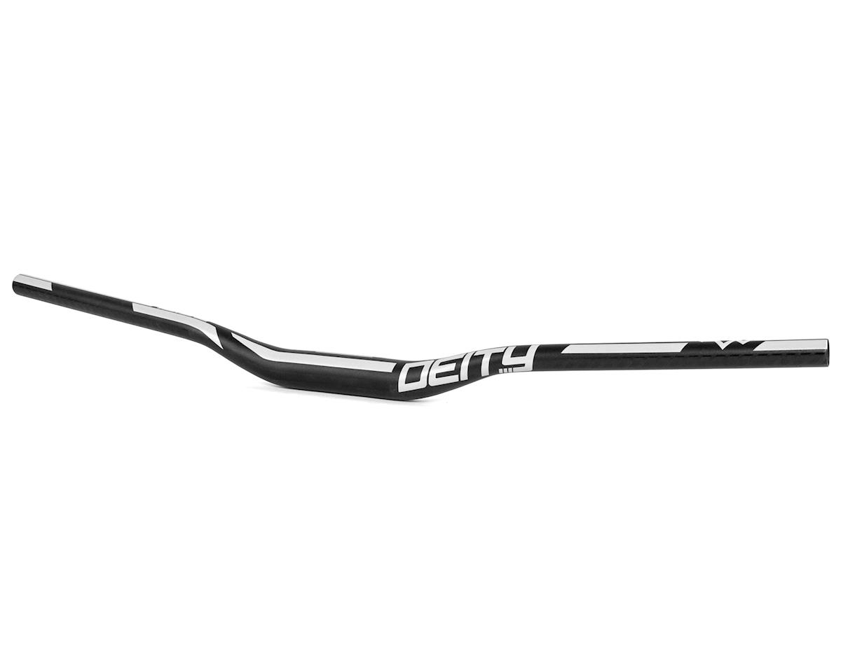 Deity Ridgeline 35mm Mountain Bike Handle Bar w/25mm Rise (800mm) (Black/White)