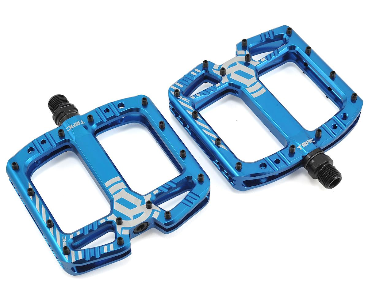 "Deity TMAC Pedals (Blue Anodized) (9/16"")"