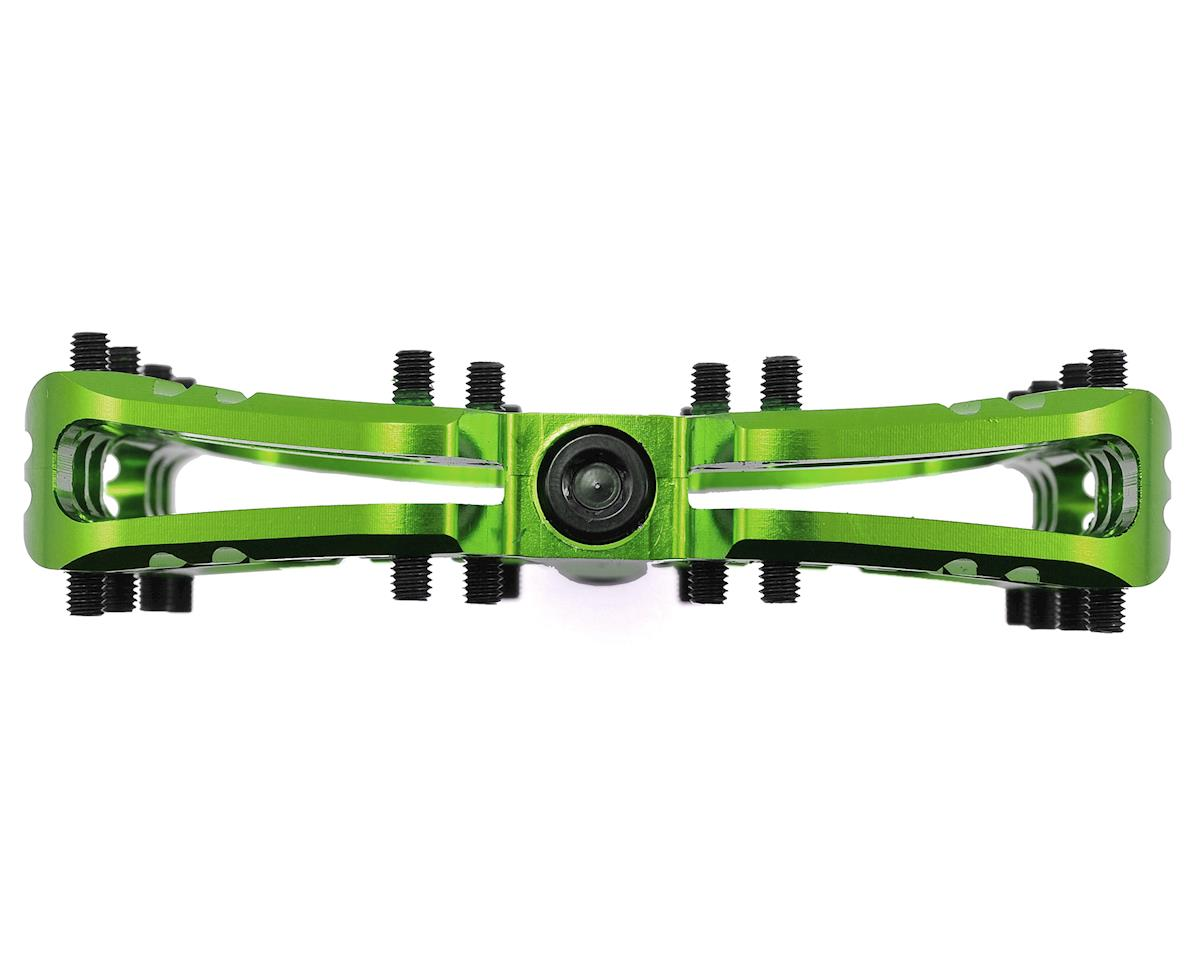 Deity TMAC Pedals (Green Anodized)