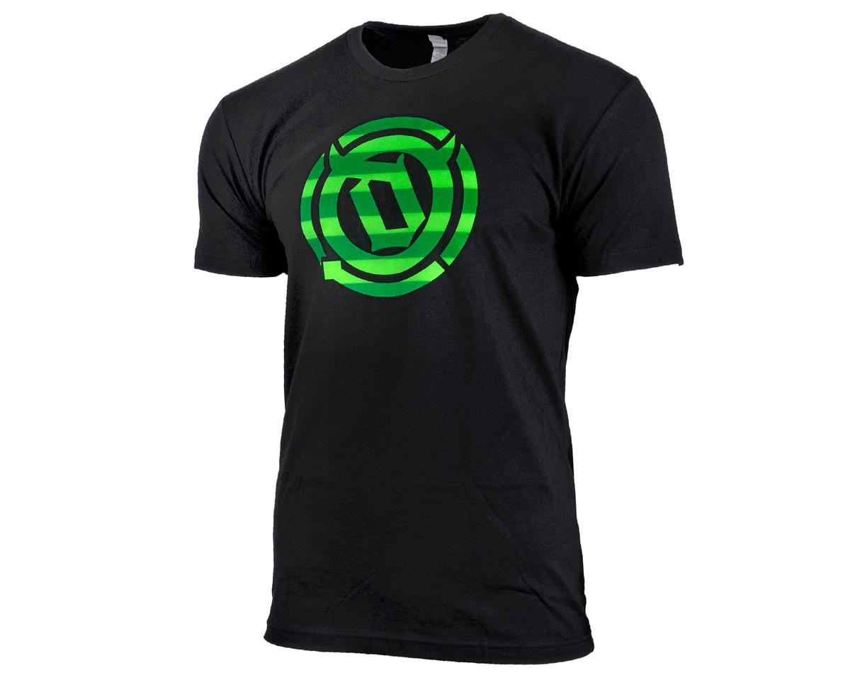 Deity Recruit T Shirt (Black/Green) (S)