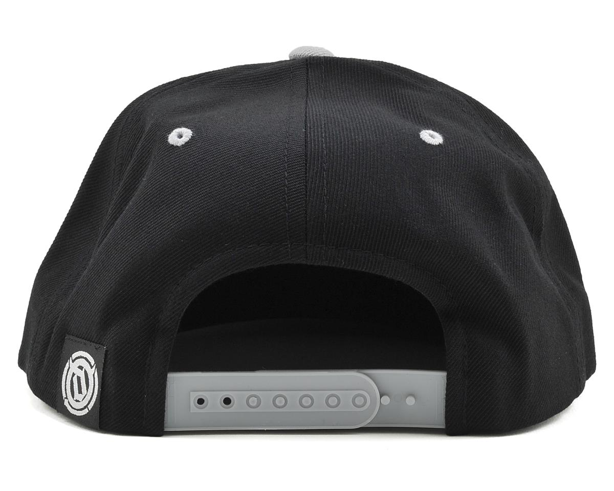 Deity 6 Panel Snap Back Hat (Black/Gray)