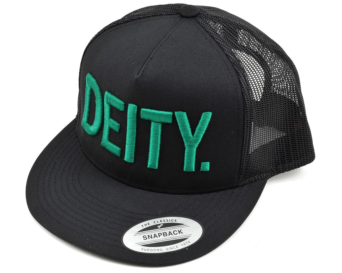 Deity Truckstop Snap Back Hat (Black/Green)
