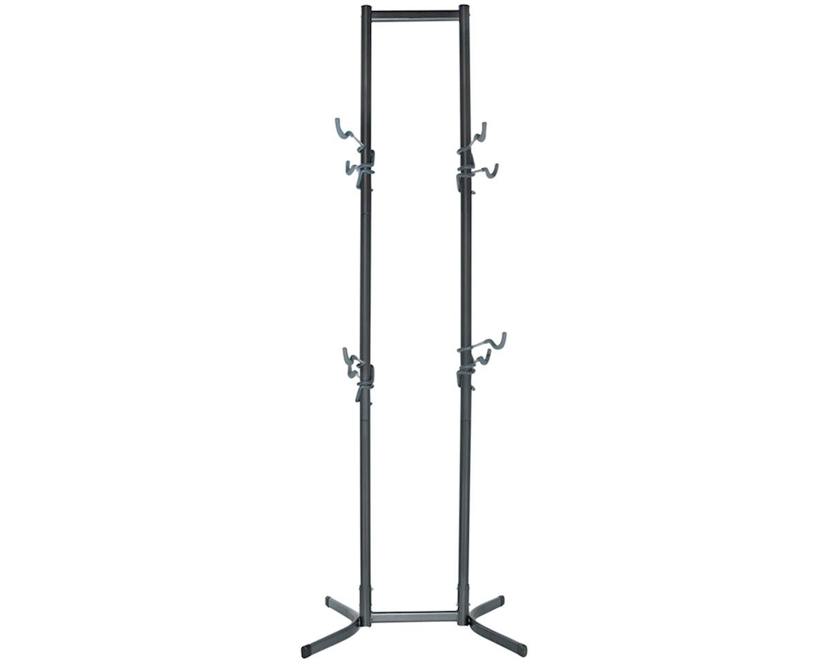 Canaletto Free Standing Bike Storage Rack: Holds Four Bikes