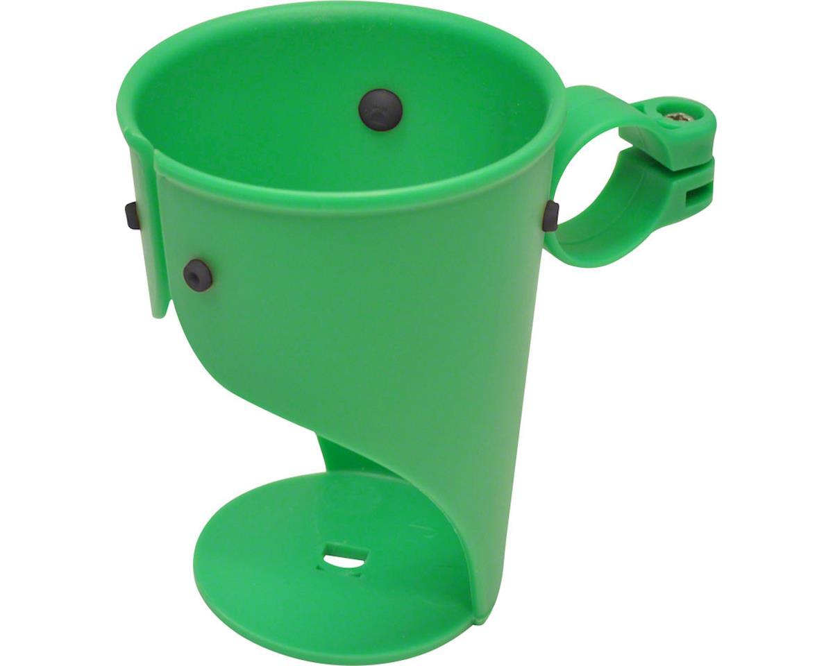 Delta Grande Beverage Holder/ Water Bottle Cage (Green) (Handlebar Mounted)
