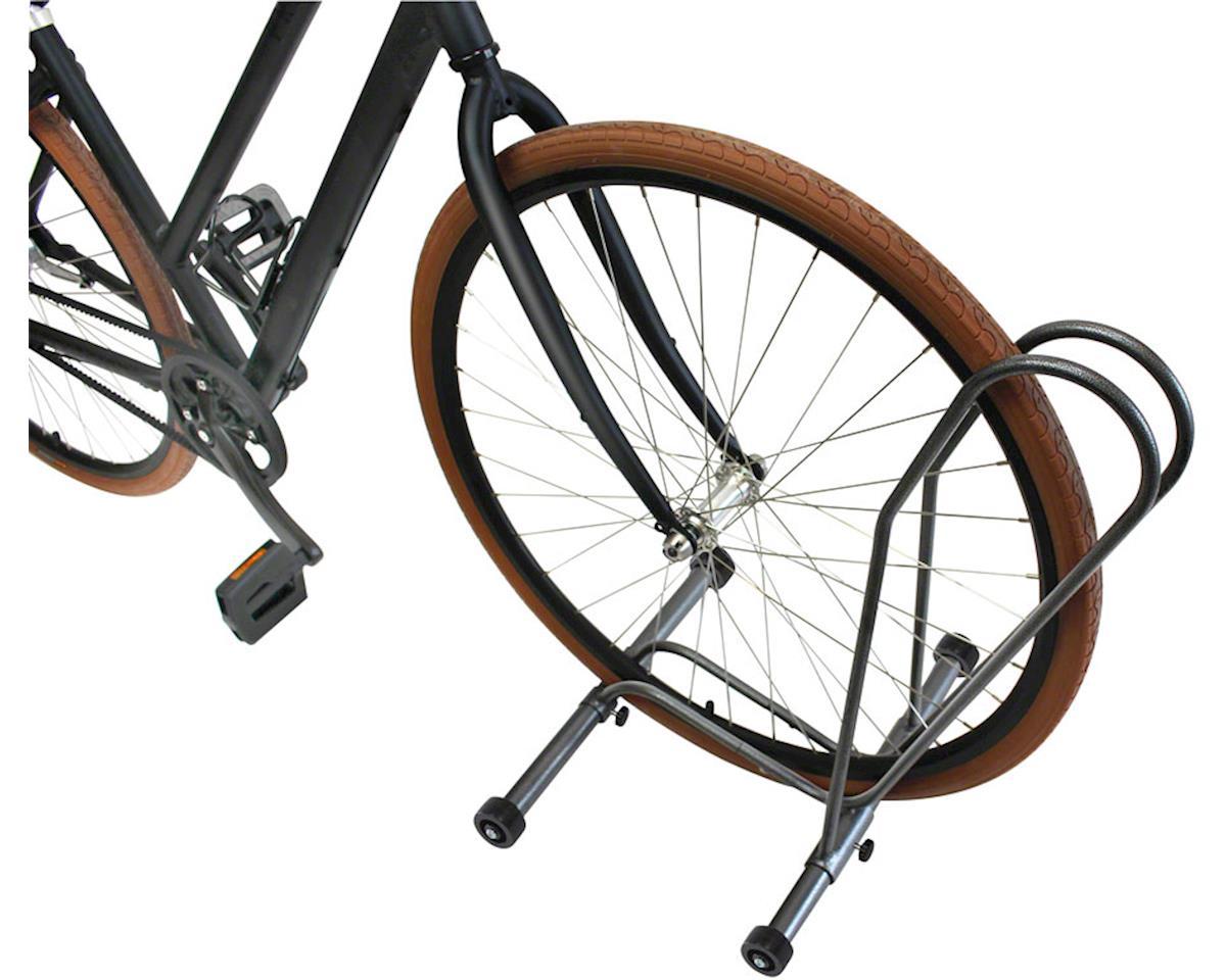 Delta Shop Rack Adjustable Floor Stand w/ Wheels (Holds One Bike)