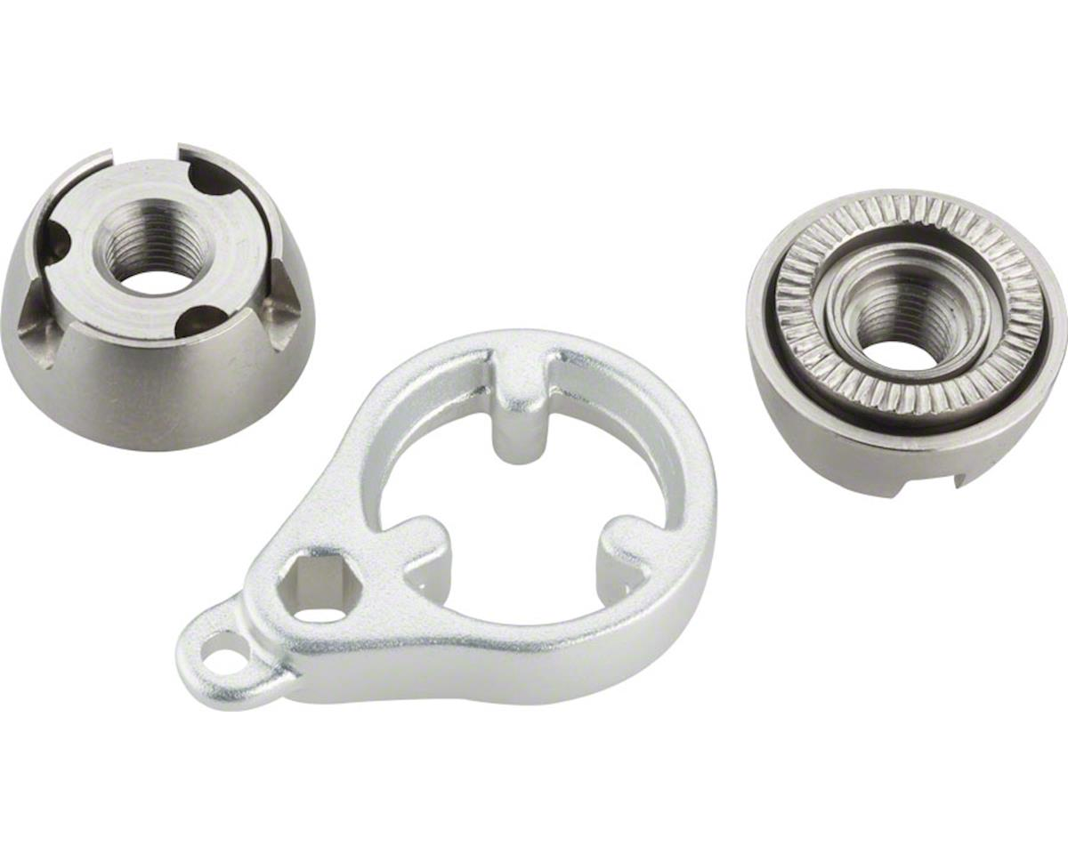 Delta KnoxNuts M10 Locking Nuts for Solid Axles