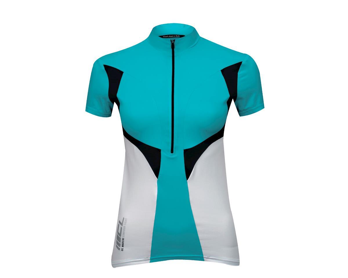 De Marchi Women's CL Short Sleeve Jersey (Blue)