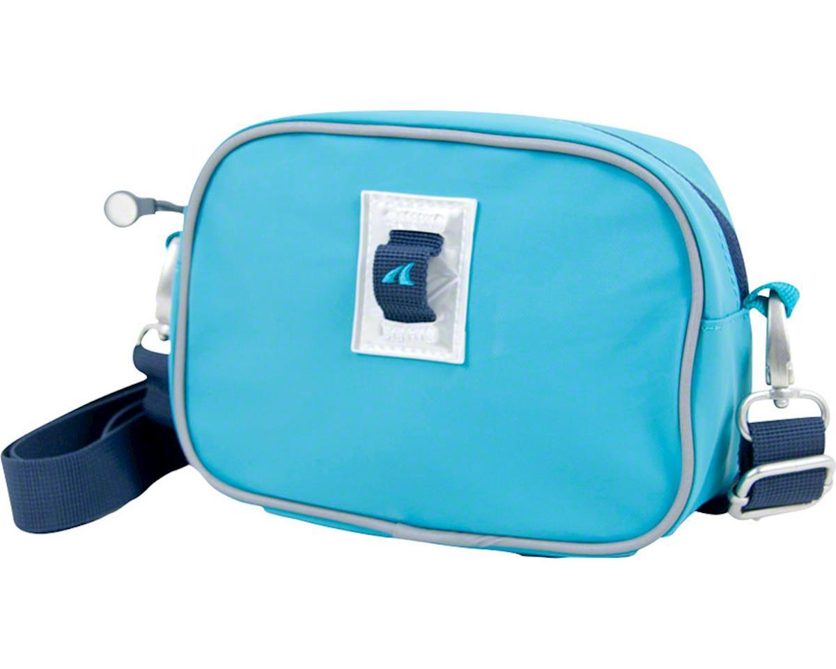 Detours Day Pass Handlebar Bag: Teal