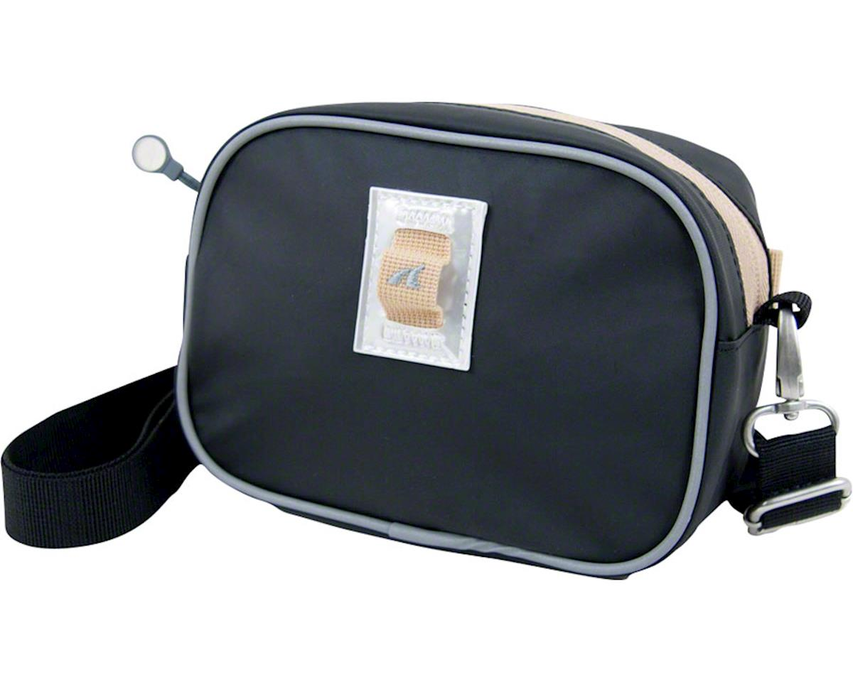 Detours Day Pass Handlebar Bag: Black Coated