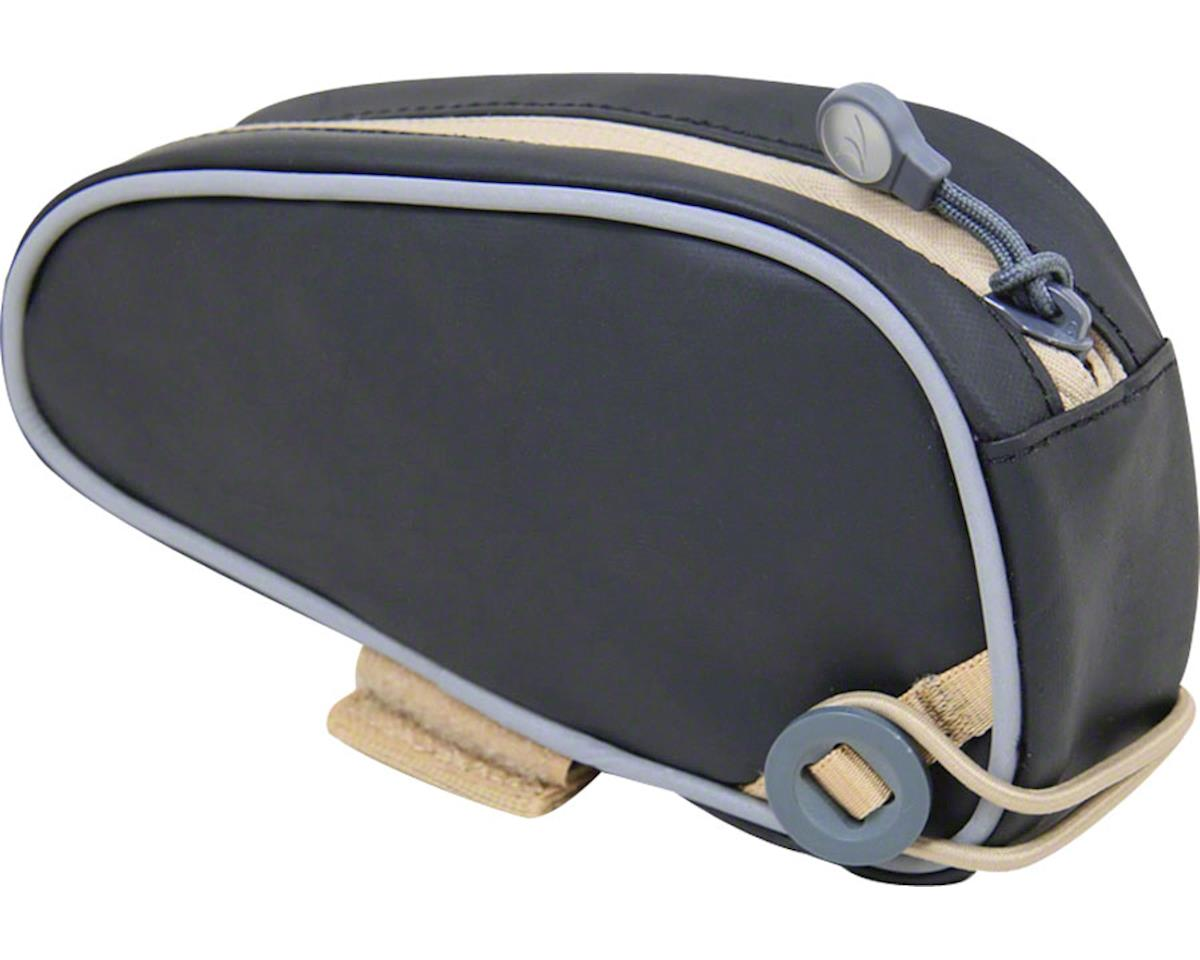 Detours Slice Top Tube Bag: Black Coated