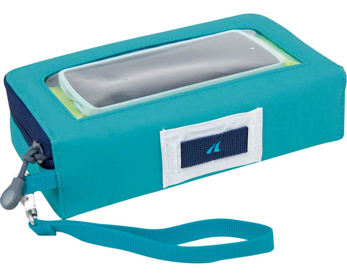 Detours Glovebox Handlebar/Stem Phone Bag: Teal