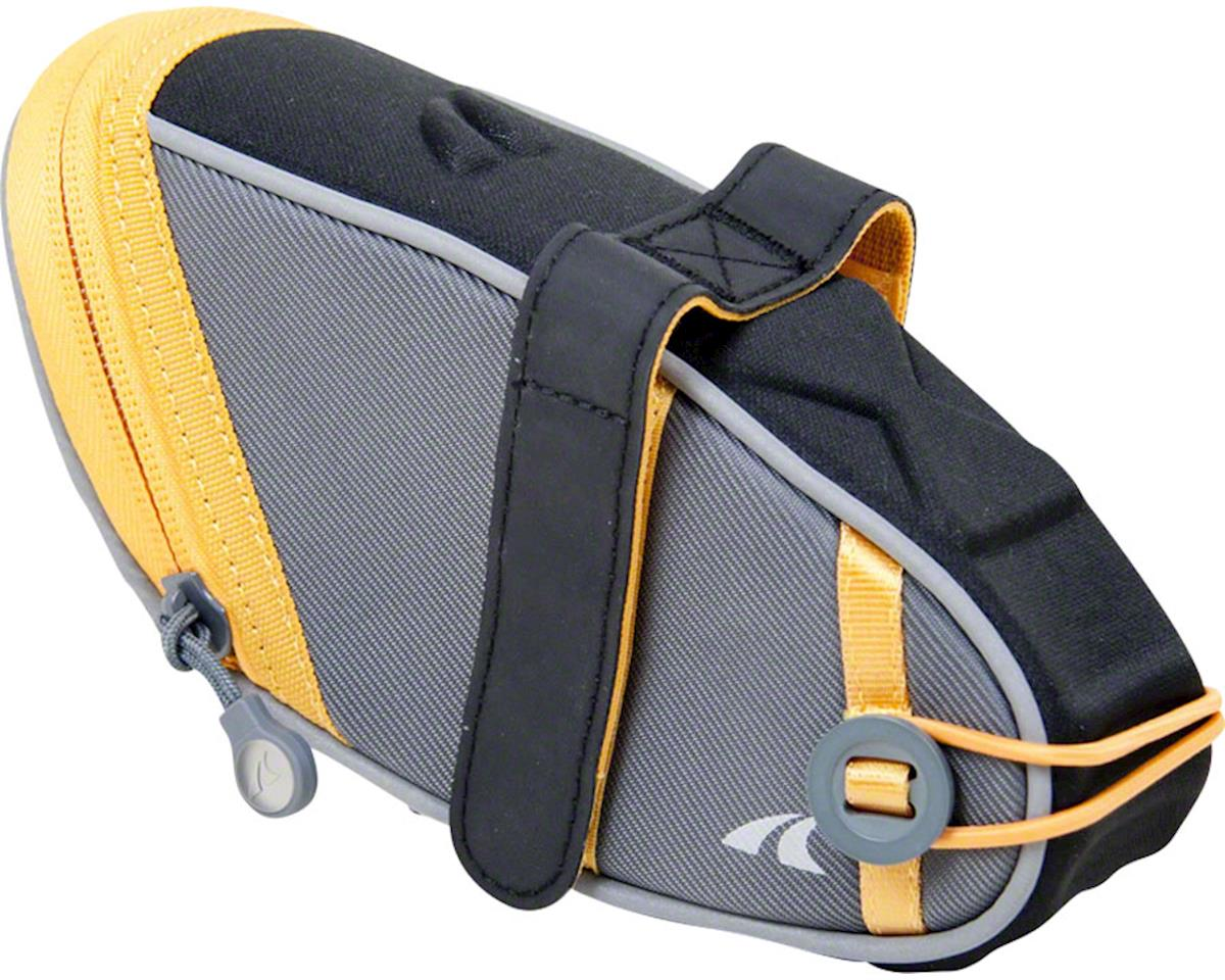 Detours Wedgie Seat Bag: LG, Gray/Orange