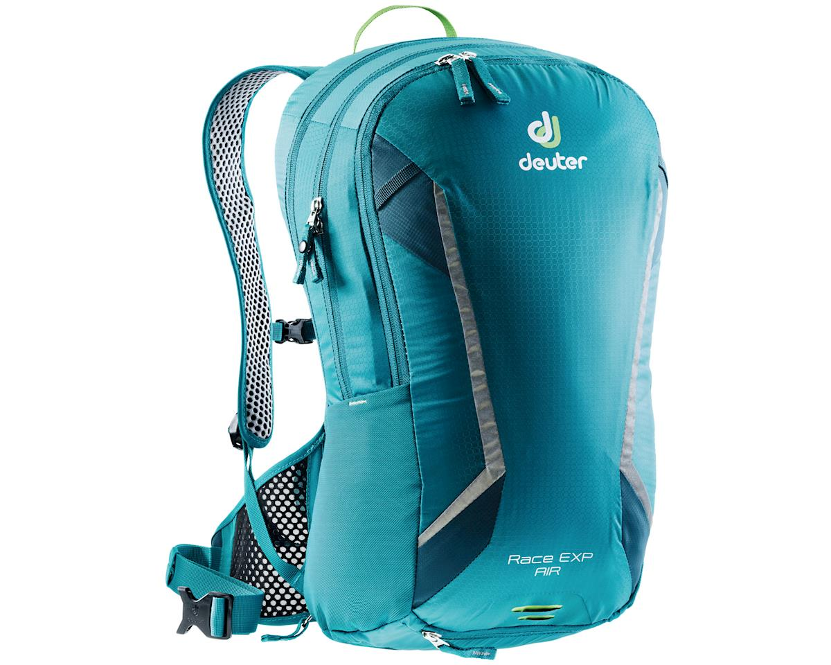 Deuter Packs Race EXP Air pack,1342cu/in+ 100oz- petrol/arctic