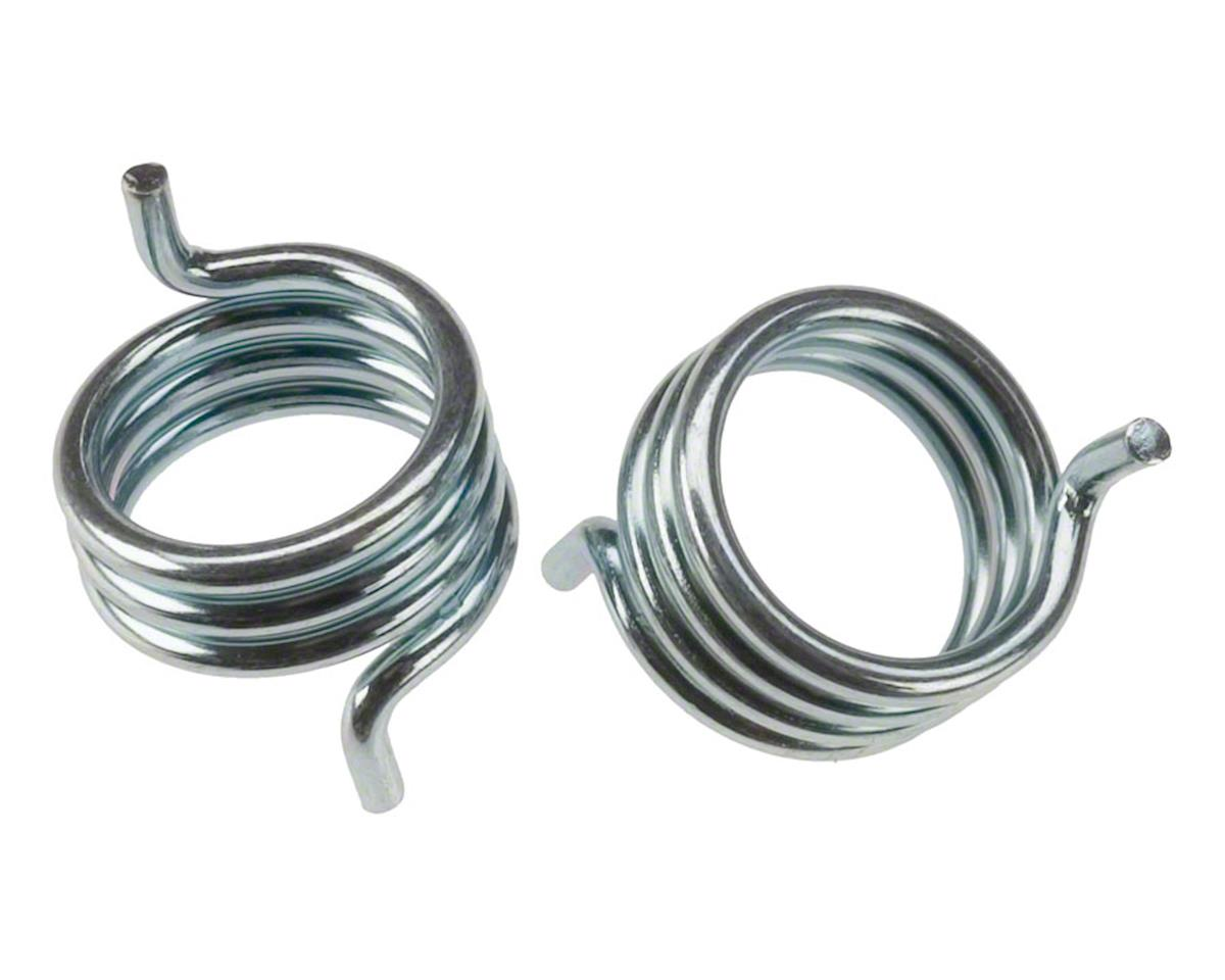 990 & 992  Brake Spring Anchor Side Silver Pair