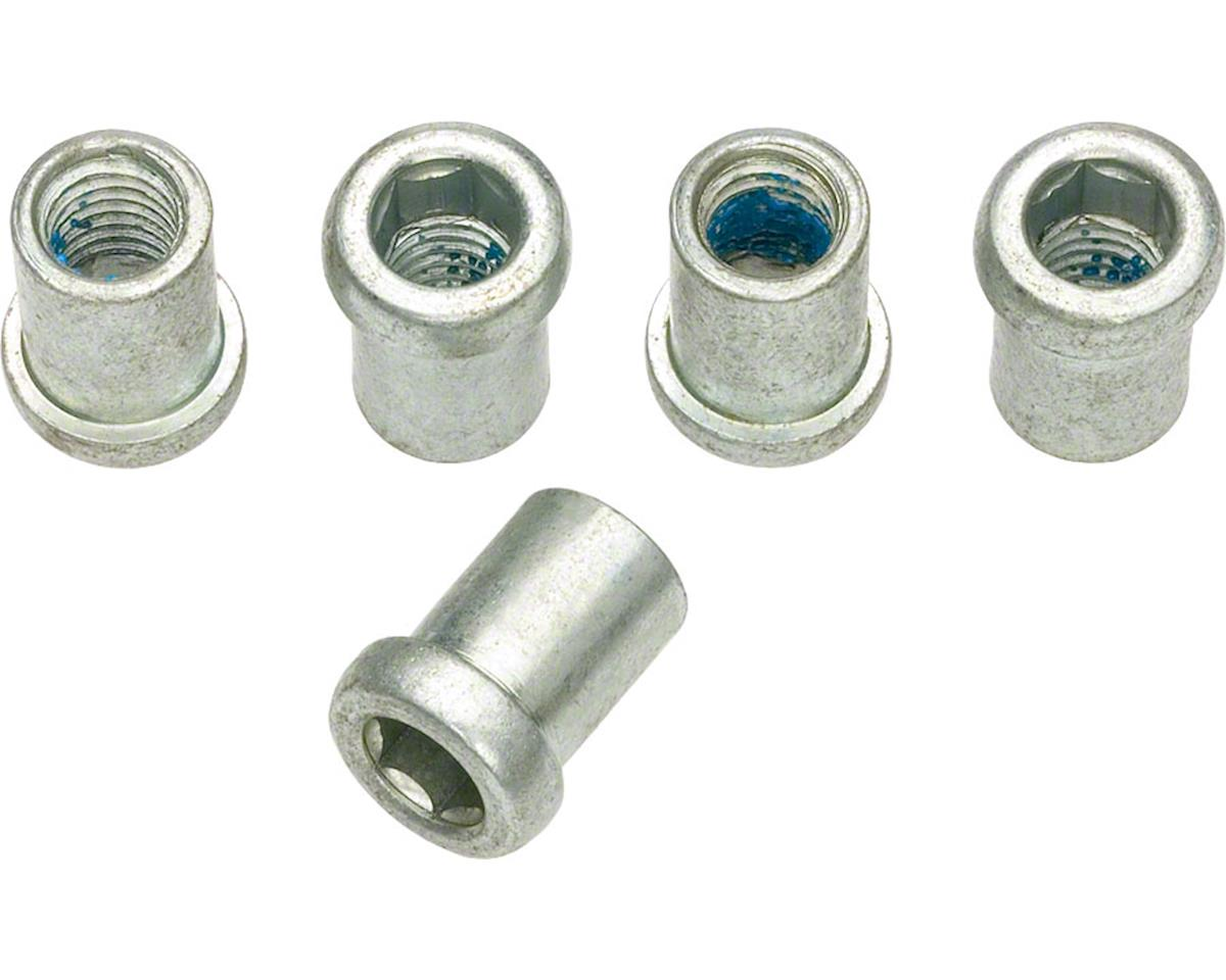 Dia-Compe Rear Recessed Brake Mounting Nut 10mm long, Bag/5