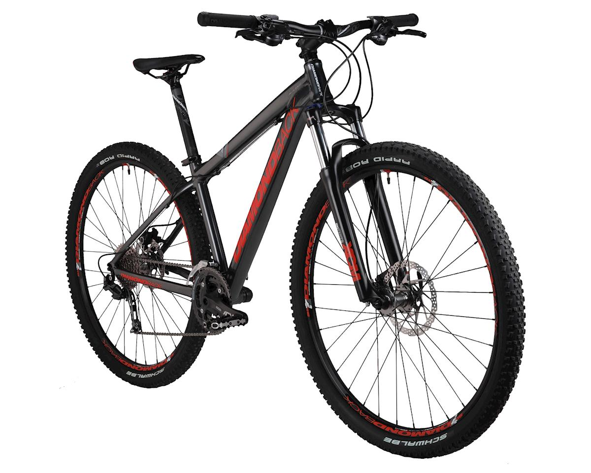 Diamondback Apex Elite Mountain Bike - Performance Exclusive (Matte Grey/Red)