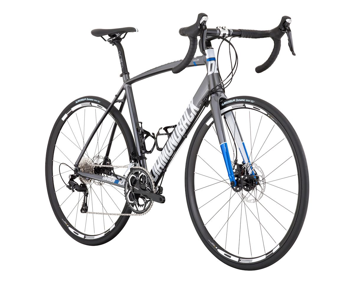Diamondback Century 1 Road Bike - 2017 (Silver)