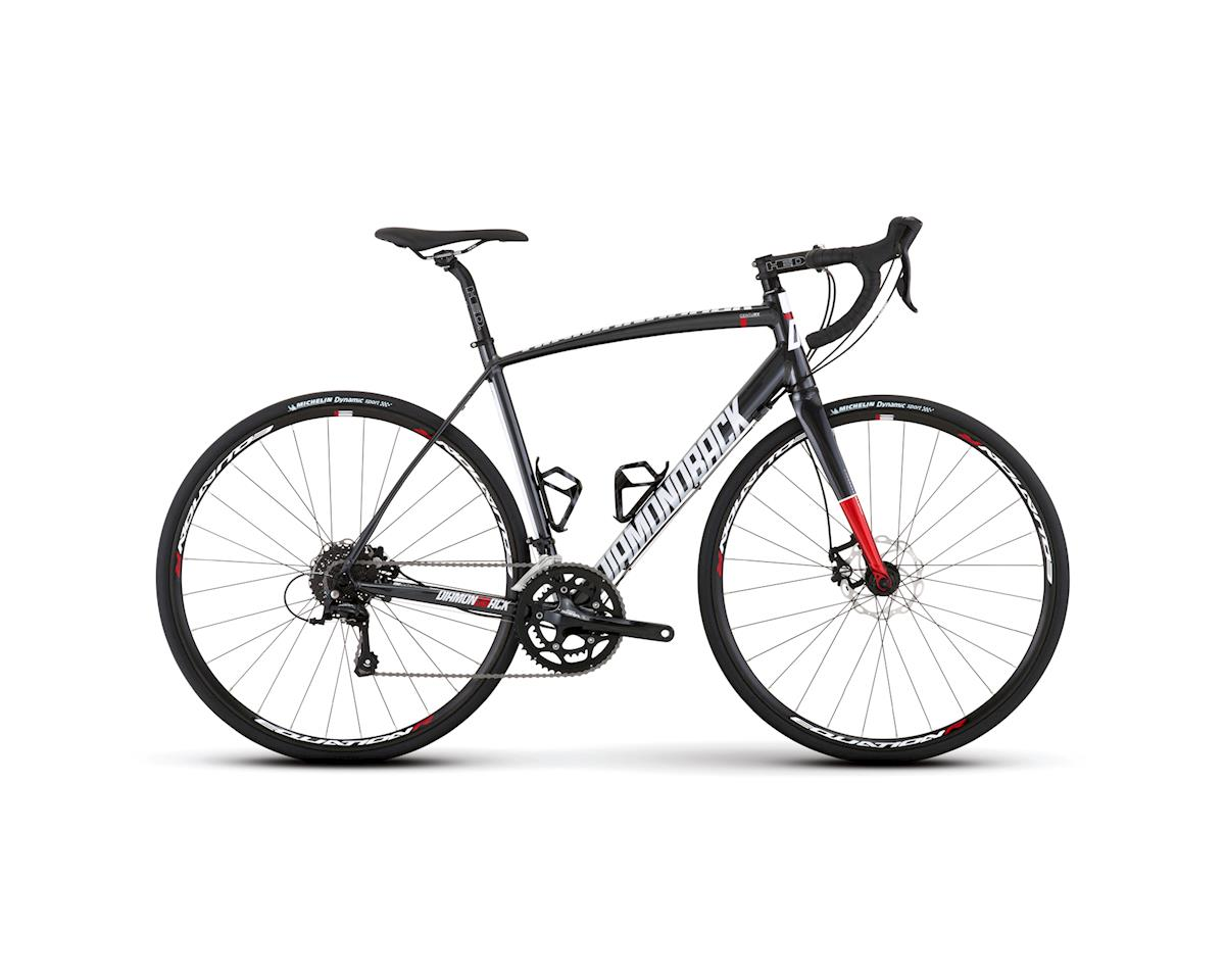 Diamondback Century Disc Road Bike - 2017 (Silver)