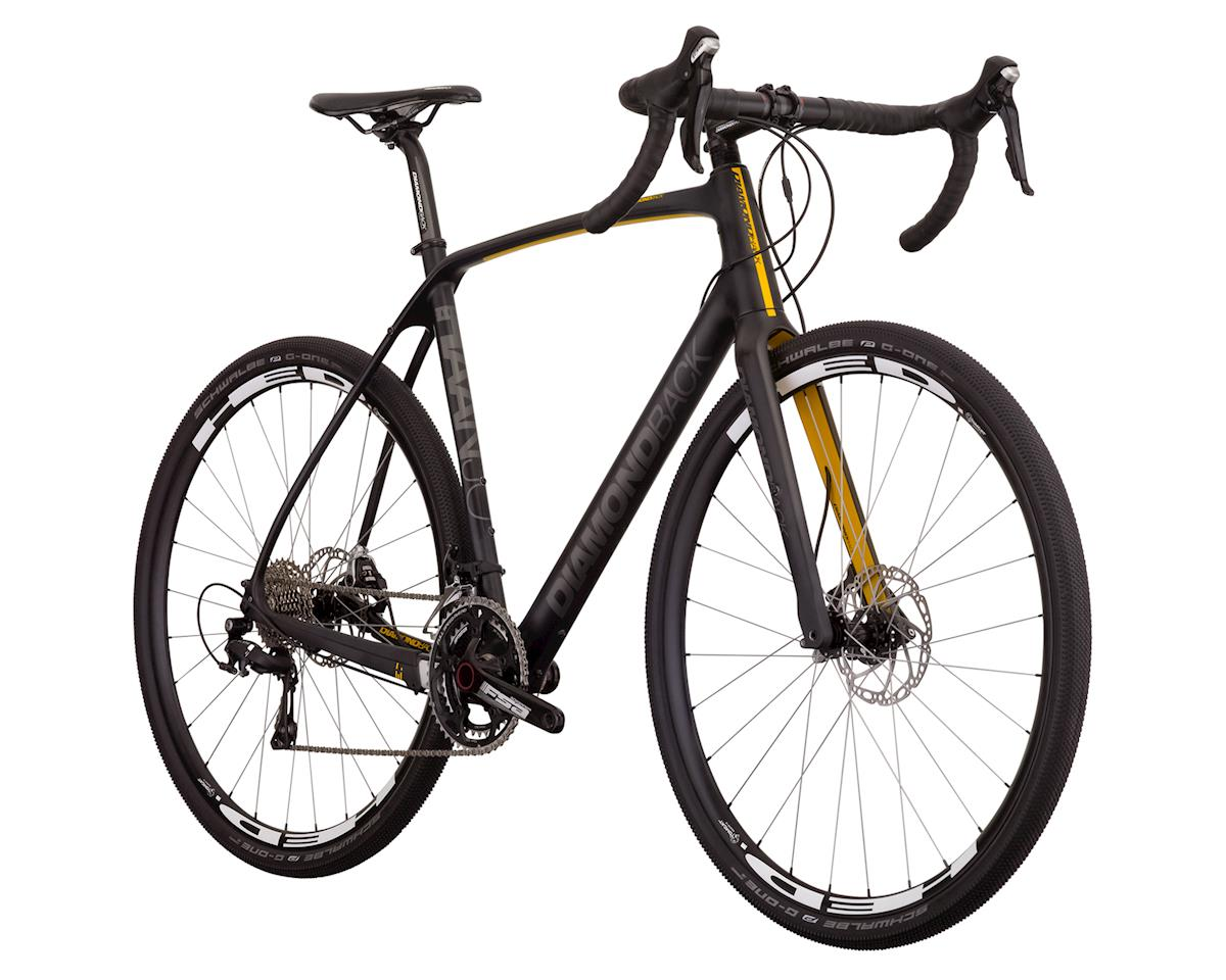 Diamondback Haanjo Comp Carbon Gravel Bike - 2017 (Raw Metal)