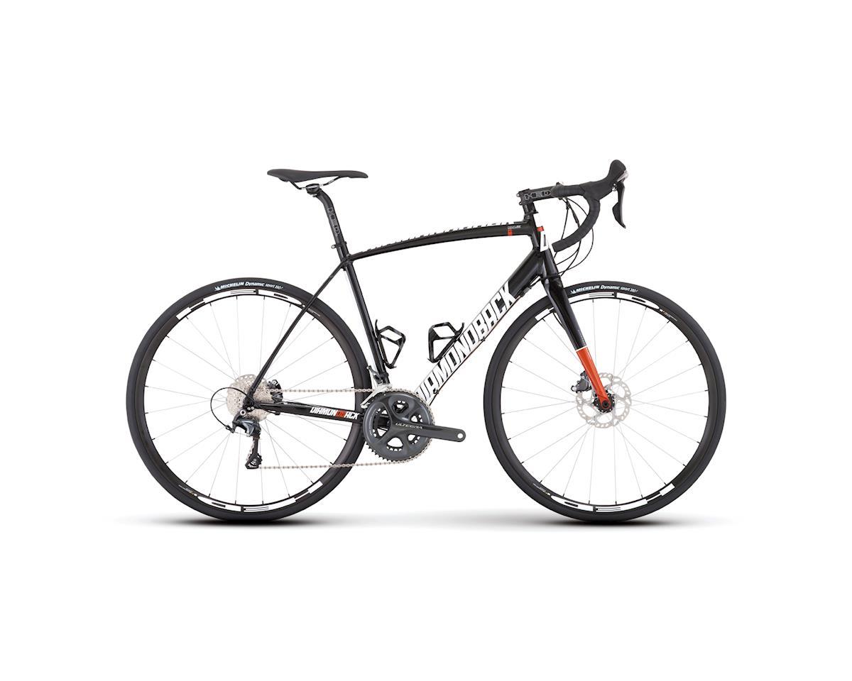 Diamondback Century 2 Road Bike - 2017 (Black) (60)
