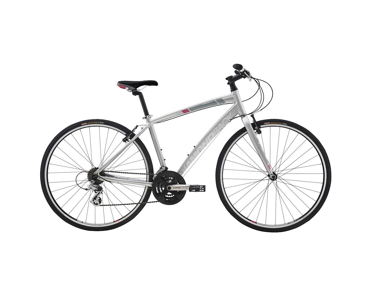 Diamondback Clarity 1 Women's Flat Bar Road Bike - 2016 (Silver) (Large)