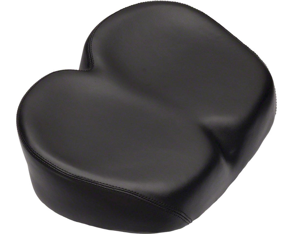 Dimension Noseless Comfort Saddle (Black)