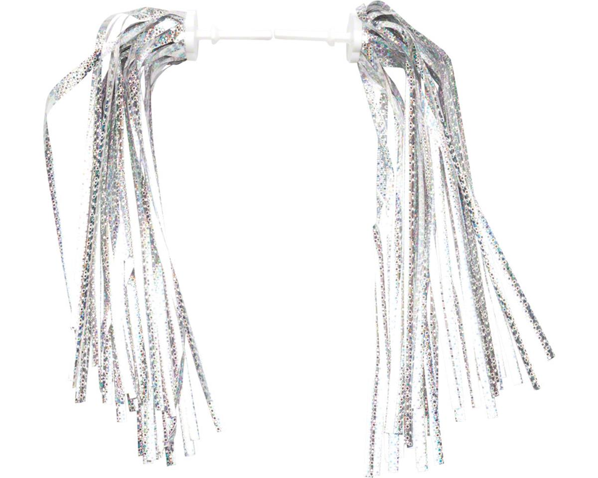 Dimension Kid's Bike Streamers (Silver-Platinum) (Pair)
