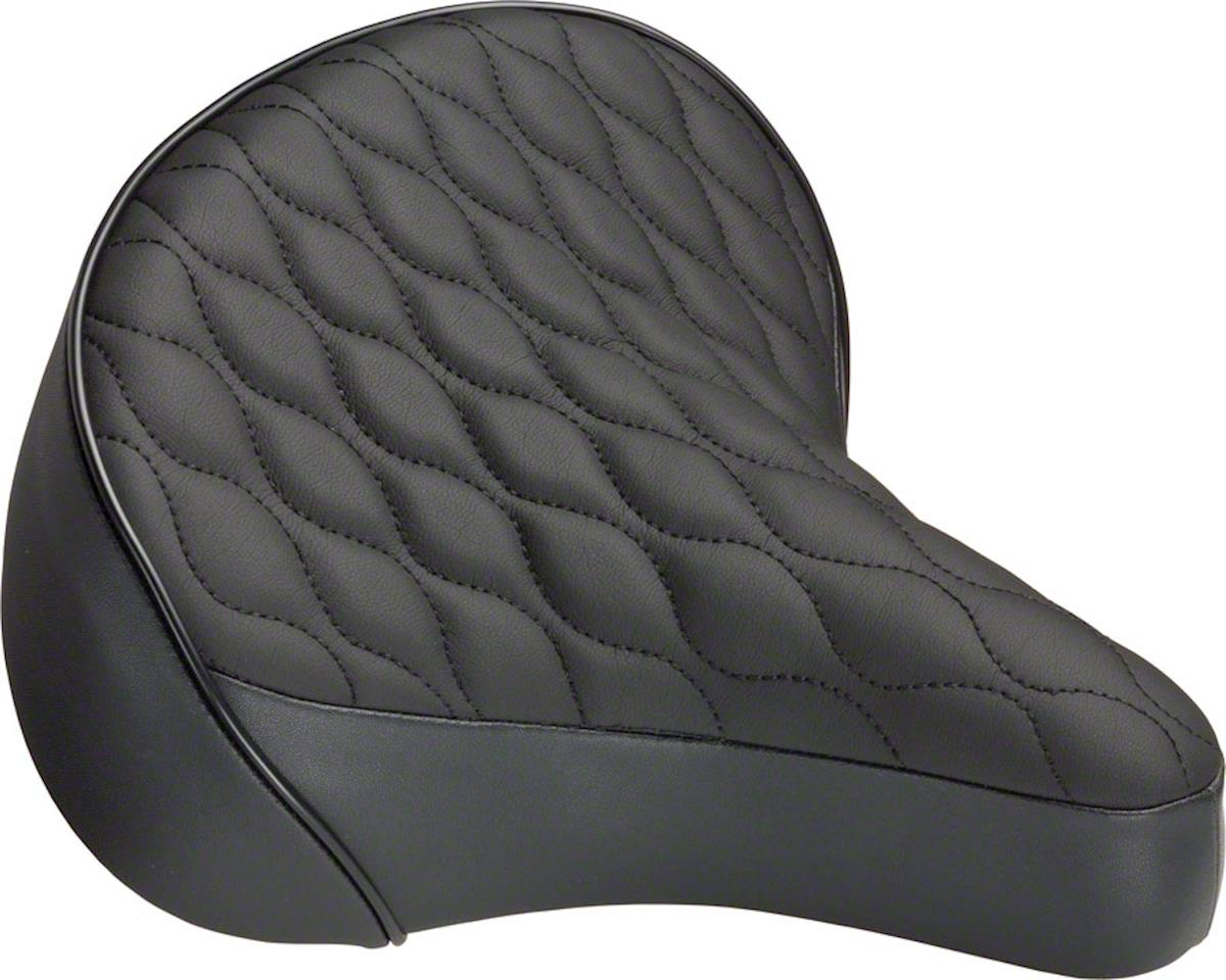 Dimension Quilted Cruiser Saddle (Black)