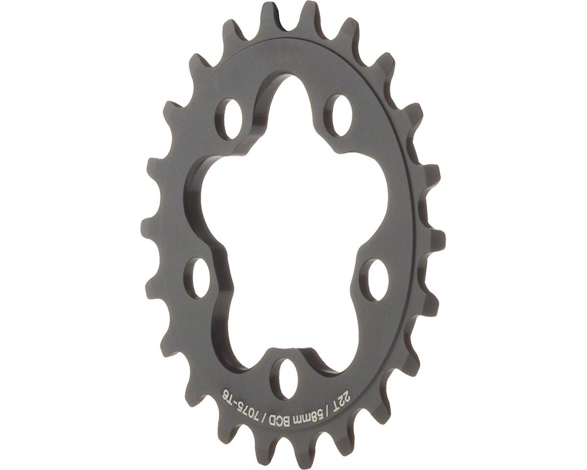 Dimension Inner Chainring (Black) (22T) (58mm BCD)