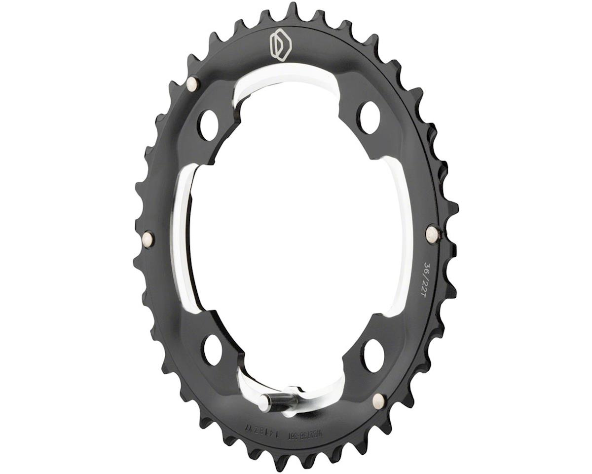 Dimension 32t x 104mm Middle Chainring Silver (36T)