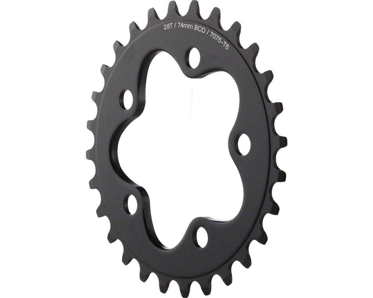 Dimension Inner Chainring (Black) (74mm BCD) (28T)