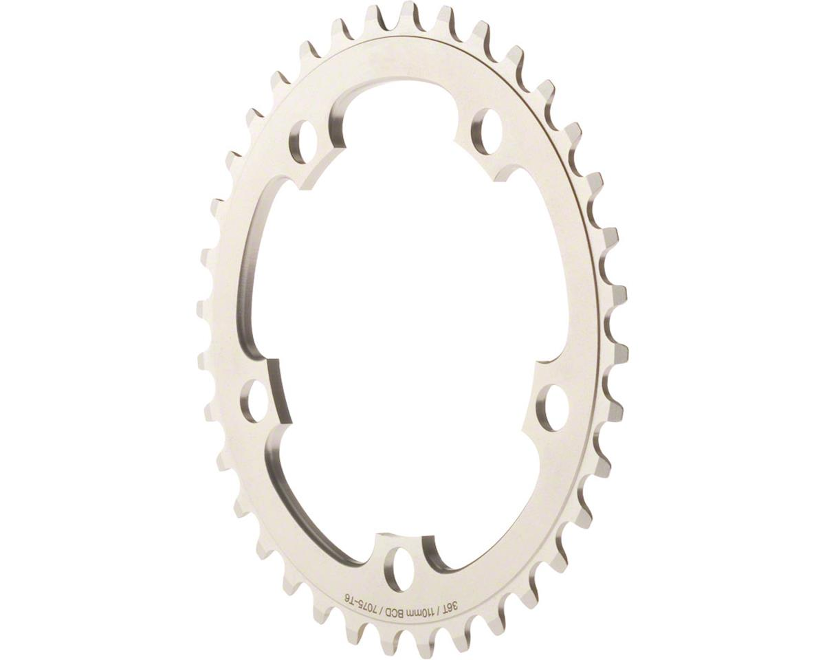Dimension Middle Chainring (Silver) (110mm BCD) (34T)
