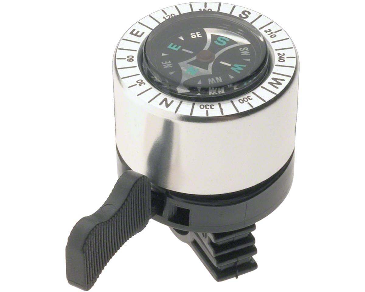 Dimension Compass Bell (Silver/Black)