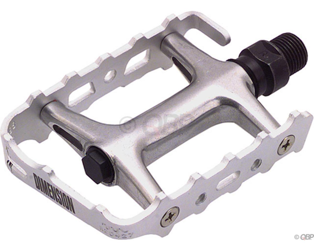 Dimension Pro Mountain Pedals (Silver/Silver)