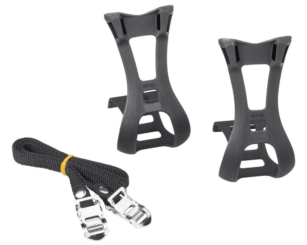Dimension Toe Clip & Strap Set (Black) (L/XL)